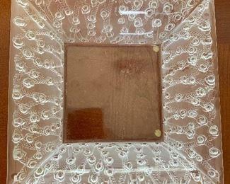 """Lalique bowl 9.5"""""""