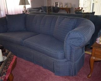 """$200 each like new Hardly sat on them Sofa 8ft and Loveseat 5ft 6""""  $350 both.   Smoke and Pet Free.  Used 6 months out of the year and then hardly used"""