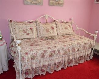 """$300 Daybed with Trundle Bed  Excellent Condition.  Hardly Used.  80""""W x 38 1/2""""D x 42""""H"""