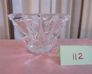 112 four inch crystal bowl. Was $10; Now $3
