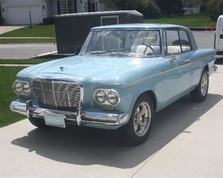 1962 STUDEBAKER LARK DAYTONA .VN 62ST9463 ~ MILES 53,200, TOTALLY REFURBISHED ~ BUY IT NOW $25,500