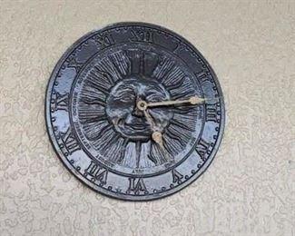 sundial clock $20.00