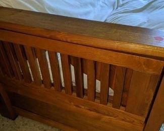 Futon oak bed $ 300