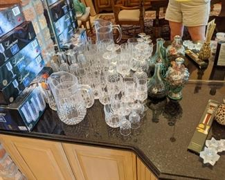 All for $25.00 Glasses and pitcher