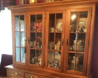 Ethan Allen Bold and Beautiful China Cabinet