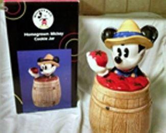 mickey in barrel. - new in box.  $60
