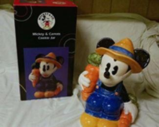 mickey  carrots.  new in box.   $55