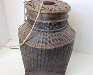 Bali woven basket.    $55