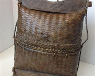 Bali Woven Basket  $55