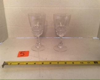 #4-$8 set of glasses