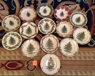 #7-$140 Spode Christmas plates Collector plates