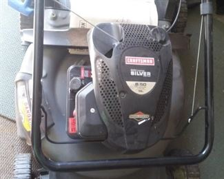 Craftsman Silver Push Lawn Mower