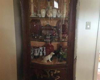 Louis vitrine $5k  Inside contents not included