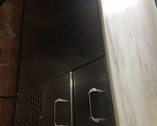 Custom fridge with marble top needs new electrical cord. Used for 2 years  $450