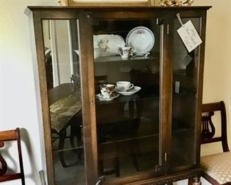 Antique China Cabinet in Very Good Condition.  Price is $280.00.