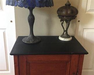 Small cabinet.
