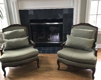 Matching set of casual chairs