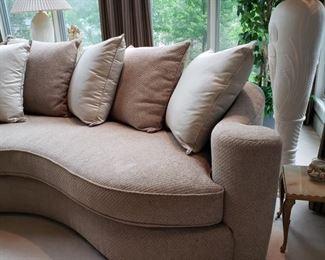 Bernhardt sofa close up