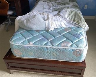 TWIN SIDE BED BY YOUNG AMERICA COMES WITH MATTRESS $125