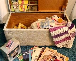 Baby Bedding, Music, Books in Toy Box Collection