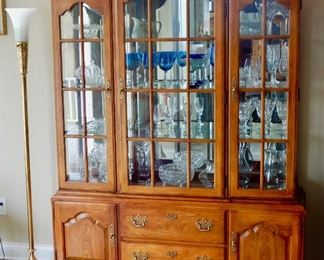 Very nice Thomasville hutch with lots of great storage. $350