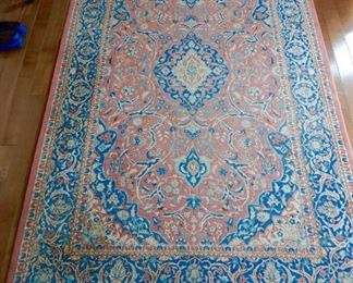 6x9 Persian design (Isfahan) in good condition--excellent weave $700