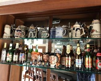 Colection of Beer Steins