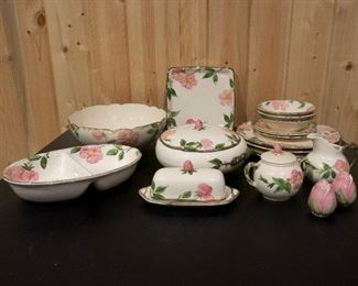 Vintage Desert Rose Franciscan Ware China (assorted pieces) =$65