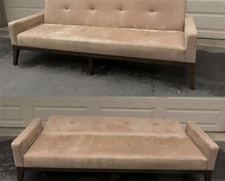 Beautiful, minimalist lines contemporary Full Size Daybed from West Elm  (dry-cleaned 5/15/20)= $175