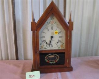 350 Seth Thomas Steeple Clock Was $40; Now $20