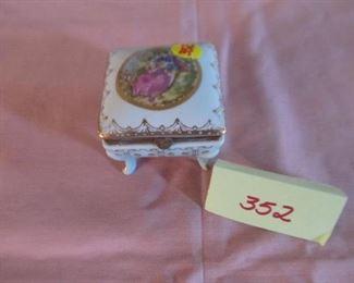 352 Small Trinket Box Was $6; Now $3