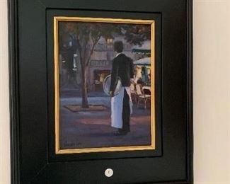 """She's home""  Faye Vander Veer  20x17  500.00"