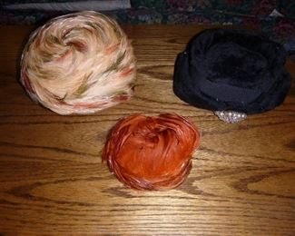 Some vintage ladies hats