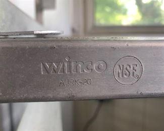 """Winco ALRK-20 NSF Pan Rack. 70""""T x 20""""W x 26""""D. 20 shelves each 3"""" apart and each 18""""x26"""". (Photo 4 of 4)"""