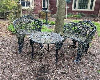 Cast iron chairs and table https://ctbids.com/#!/description/share/408481