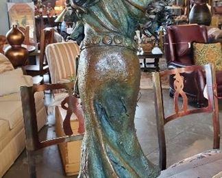 "Tracy Beeler Brinkman ""Free as the Wind"" bronze. $750."