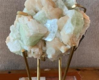 Mounted Mineral Specimen - $450