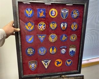 framed patches 25 150.00