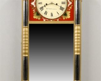 New Hampshire Mirror wall clock by W. G. Emerson