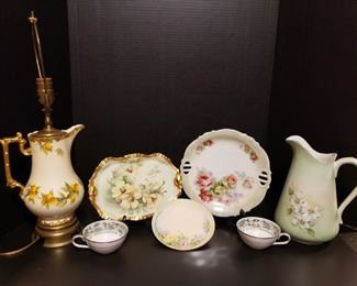 China Pitcher Lamp, Knowles, Noritake, and More https://ctbids.com/#!/description/share/409444