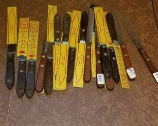 #351 vintage steak knife lot   $10