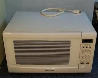#340 panasonic microwave 20 wide 12 tall 14.5 deep  $7