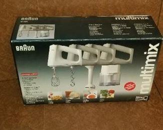 #338 Braun multimix set    $10