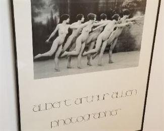 #304 Arthur Allen framed print 18x 22  $25