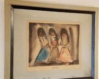 #214 three sisters print 25 wide 21 tall   $40