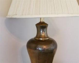 #198 vintage lamp 29 tall works   $20
