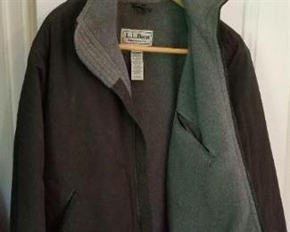 #185 ll bean regular small jacket fleece lined  $7