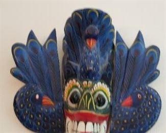 #169 wood mask 7x 73  $10