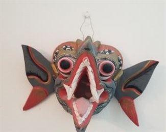 #168 wood mask 8 x 5   $10