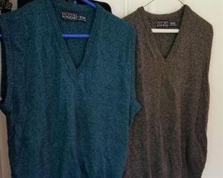 #155 2 size medium sweaters   $5